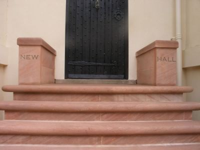 New Hall Steps