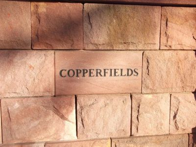 Copperfields Sign