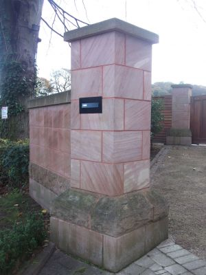 Ashlar Gateposts